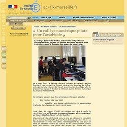 Site académique - Les actions partenariales