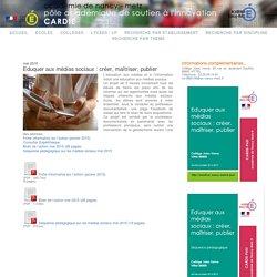 réseaux sociaux collège 5ème : Innovation - PASI Nancy-Metz