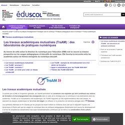 Travaux académiques mutualisés (TraAM)