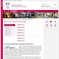 Travaux académiques mutualisés-Histoire des arts-Éduscol
