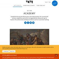 Academy – Art Term