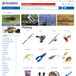 Fishing Tackle, Bait, Rods and Reel