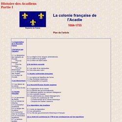 Acadie (1604-1755)