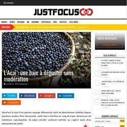 L'Acaï : une baie à déguster sans modération - Food & More, Green
