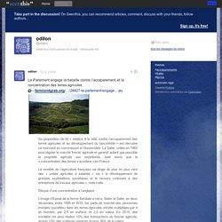 Le Parlement engage la bataille contre l'accaparement et la concentration des terres agricoles