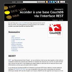 Accéder à une base CouchDB via l'interface REST