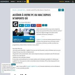 Accéder à votre PC ou Mac depuis n'importe où - Gizmodo -