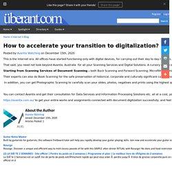 Document Scanning And Digitization