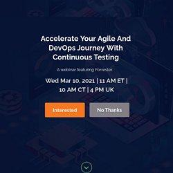 Agile & DevOps Testing Approach
