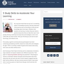 5 Study Skills to Accelerate Your Learning