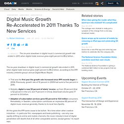 Digital Music Growth Re-Accelerated In 2011 Thanks To New Services | paidContent:UK