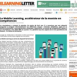 Le Mobile Learning, accélérateur de la montée en compétences