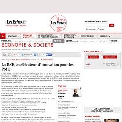 La RSE, accélérateur d'innovation pour les PME