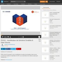 POC21 : Accélérateur de Solutions Durables & Open Source