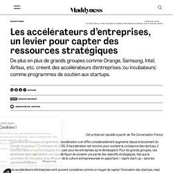 Les accélérateurs d'entreprises, un levier pour capter des ressources stratégiques