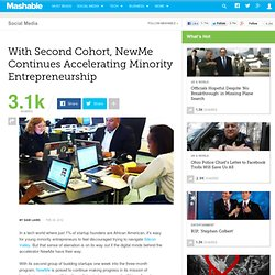 With 2nd Cohort, NewMe Continues Accelerating Minority Entrepreneurs