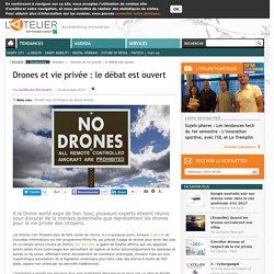 Drones et vie privée : le débat est ouvert