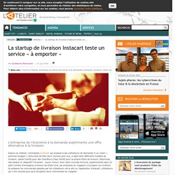 La startup de livraison Instacart teste un service « à emporter »