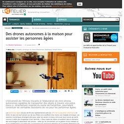 Des drones autonomes à la maison pour assister les personnes âgées