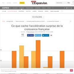 Ce que cache l'accélération surprise de la croissance française - L'Express L'Expansion