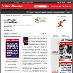 Accélération Hartmut Rosa