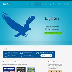 Download EagleGet - Download Accelerator, Video Downloader