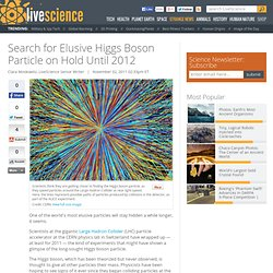 Search for Elusive Higgs Boson Particle on Hold Until 2012