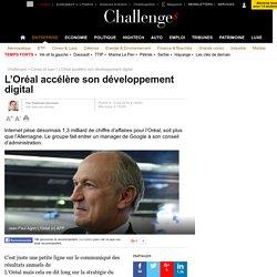 L'Oréal accélère son développement digital