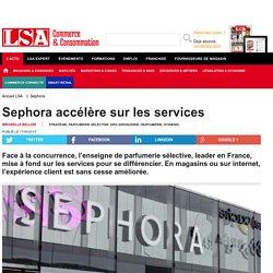 Sephora accélère sur les services - DPH (Droguerie, parfumerie, hygiène)