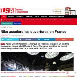 Nike accélère les ouvertures en France