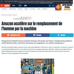 Amazon accélère sur le remplacement de l'homme par la machine