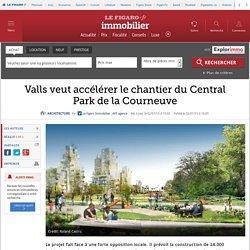 Valls veut accélérer le chantier du Central Park de la Courneuve
