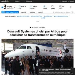Dassault Systèmes choisi par Airbus pour accélérer sa transformation numérique