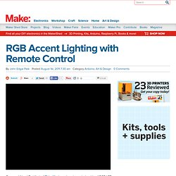 RGB Accent Lighting with Remote Control