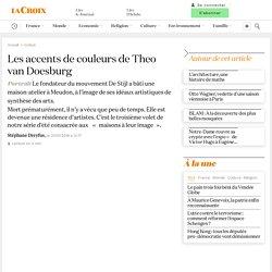 Les accents de couleurs de Theo van Doesburg