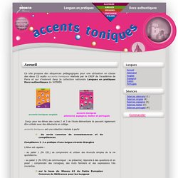 Accents Toniques