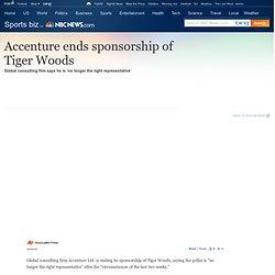 Sponsorship scandal essay