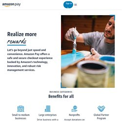 Accept Mobile Payments, Mobile Payments Service - Amazon Payments