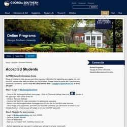 Accepted Students