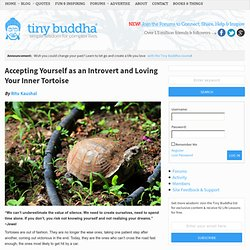 Accepting Yourself as an Introvert and Loving Your Inner Tortoise
