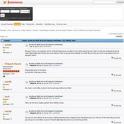 Forums Freenews / Accès au NAS de la V6 depuis l'exterieur