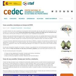 Tareas accesibles y tecnológicas en tiempos de COVID