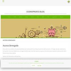 Acceso Denegado – Econoprofes Blog