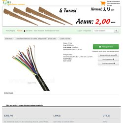 Accesoriu Rulota - Cablu 13 Fire-Exis.Ro