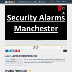 Access Control System Manchester