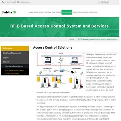 Choose Best Access Control Solutions
