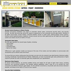 Gate Motor Repair and Service