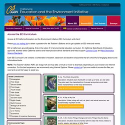 Access the EEI Curriculum
