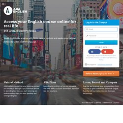 Access your English Course Online
