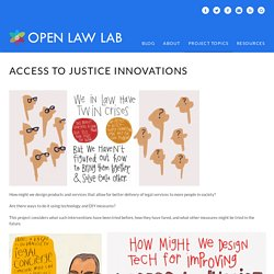 Access to Justice Innovations